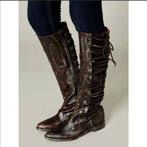 Free People Shoes - Free People Alistair Lace-Up Riding Boots